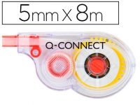 Corrector Q-connect Cinta Blanco 5 Mm X 8 Mt