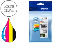 Ink-jet Brother Lc3219xlval Multipack 4 Colores Negro / Amarillo / Cia
