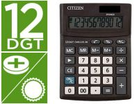 Calculadora Citizen Sobremesa Business Line Eco Eficiente Solar Y Pila