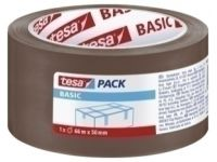 CINTA de EMBALAJE TESA BASIC PP rollo 66x50 MARRON