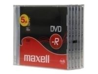Dvd -R Maxell 4,7Gb 16X Jewel Case Pack 5 (Incluye Canon Lpi De 1.05