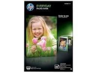 Hp Papel Photo Glossy Uso Diario, 100 Hojas, 10 X 15Cm, 200Gr